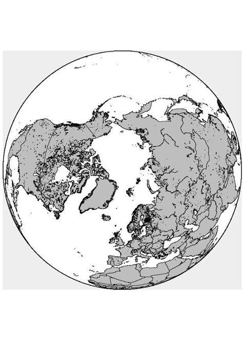 Kleurplaat Noordpool by Kleurplaat Noordpool Afb 8317