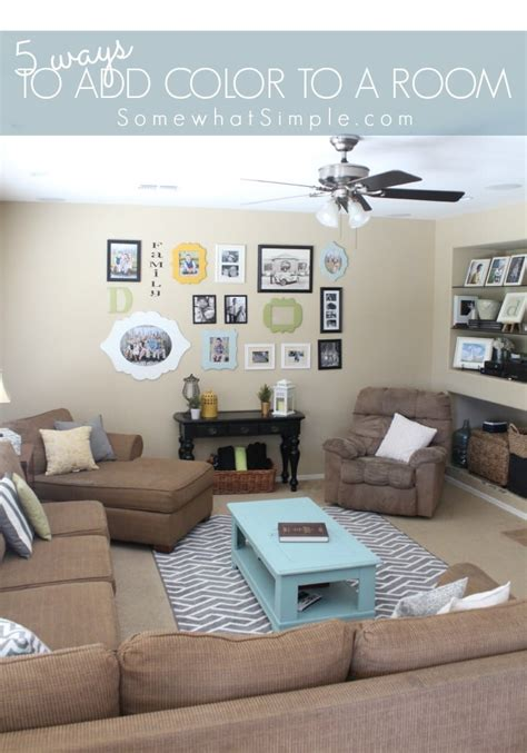 how to add color to a room easy ways to add color to a room somewhat simple