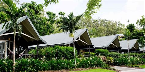palm bungalows hamilton island qld  adventure traveller