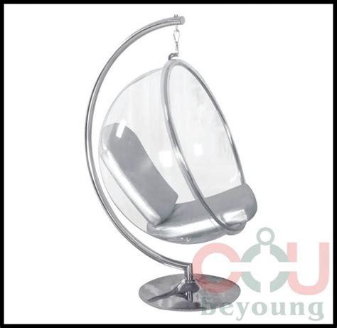 chaise boule bulle chaise montage semi cirle acrylique extérieure boule