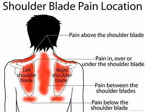 How To Tell If The Pain Between Your Shoulder Blades Is A ...  Shoulder Pain Bone tumors