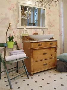 Waschtisch Im Landhausstil Home Spa Im Eigenen Bad