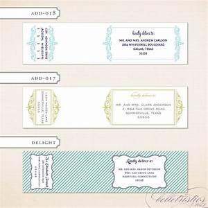 labels for envelopes With wedding invitation envelope label template