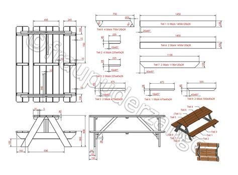 Picknicktisch Selber Bauen by Diy Picknicktisch F 252 R Kinder Gabelschereblog