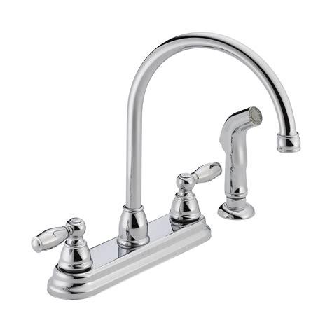 peerless kitchen faucet peerless faucet p299575lf two handle kitchen faucet atg