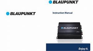 Blaupunkt Amp1501 Amplifier Instruction Manual Pdf View