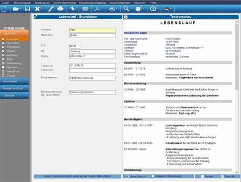 Kostenlos Lebenslauf Erstellen by Bewerbungsmaster Professional 2019 Vollversion Als