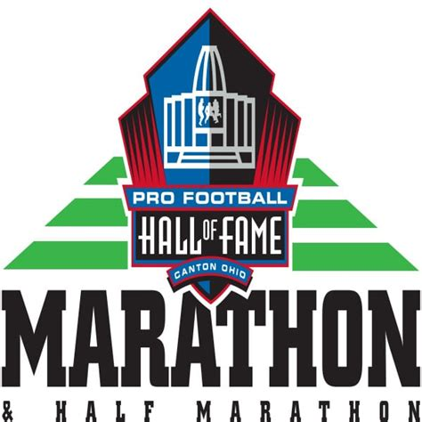 pro football hall fame hof marathon race reviews canton ohio