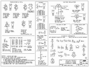 Component Electrical Symbol Chart Symbols Diagram Ieee Std Quick Reference Only Home Wiring Re