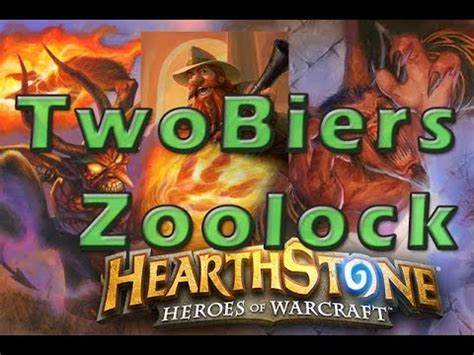 Hearthstone Zoolock Deck Cheap by Hearthstone Twobiers Kolento Legend Zoolock Deck