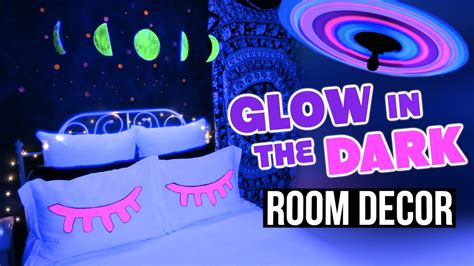 diy glow in the dark room decor tumblr inspired youtube