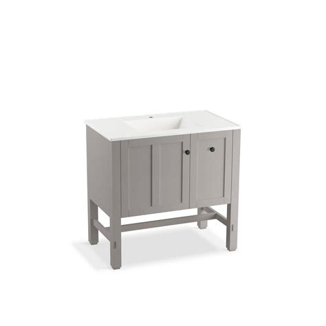 Kohler Tresham Vanity by Kohler Tresham 36 In W Vanity In Mohair Grey With