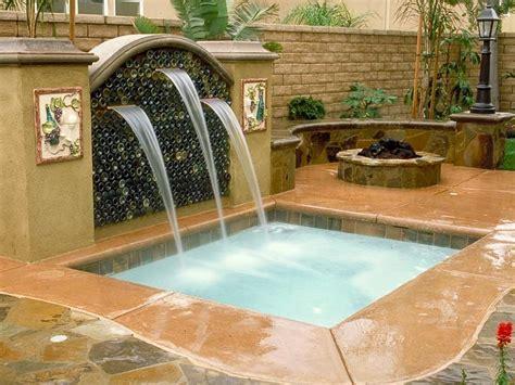 backyard spa designs swimming pool spas hgtv