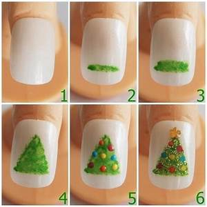 Very easy christmas inspired nail art designs for moms