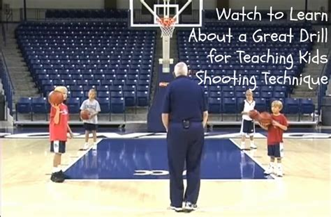 youth basketball shooting form drills beginner basketball drill video learn the form shooting drill