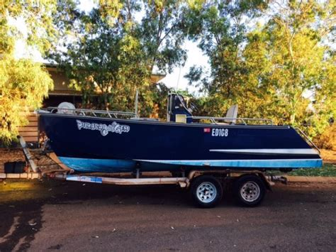 Jet Boat Hull For Sale by Used Alucraft Centre Console Jet Boat Mono Hull Centre
