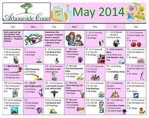 August 2014 Activity Calendar For Seniors | Party ...