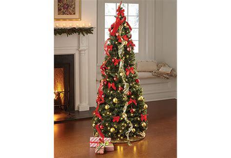 pop  ft led christmas tree  sharper image