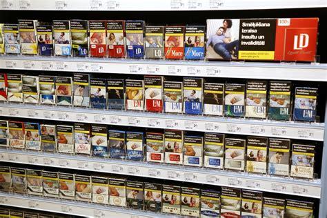 Cigaretes veikalu plauktos nebūs redzamas no 2020.gada 1 ...