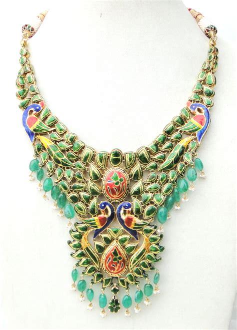 indian kundan jewellery designs catalogue page