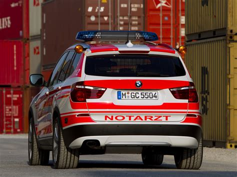2011 Bmw X3 Xdrive20d Notarzt F25 Ambulance Emergency X3