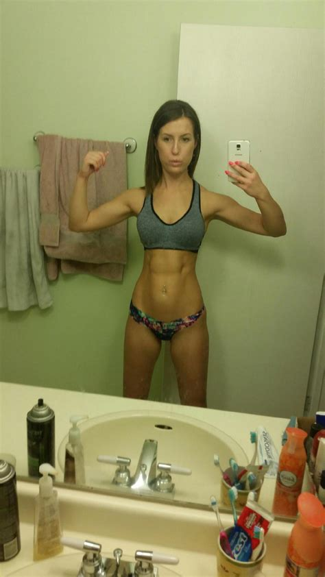athletic fit amateur female nude