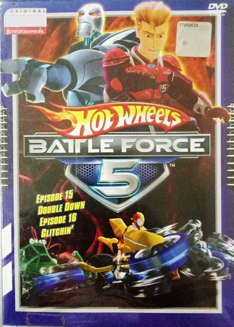 dvd hot wheels battle force 5 vol 15 and 16 anime region all english version english sub