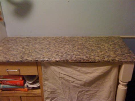 tutorial how to paint your countertops to look like