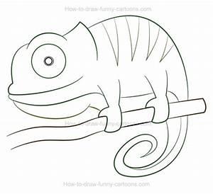 Eric Carle Chameleon Template Images - Templates Design Ideas