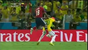 """Neymar Jr FIFA Brazil 2014 Injured"" ""7-4-2014"" (VIDEO ..."