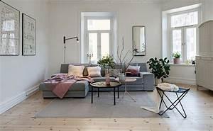 Salon Gris Et Rose : d co salon gris et rose ~ Preciouscoupons.com Idées de Décoration