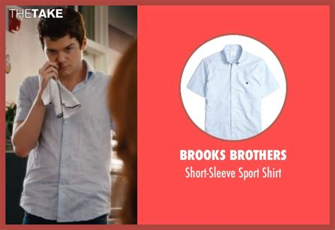 Dan Byrd Brooks Brothers Short-sleeve Sport Shirt From