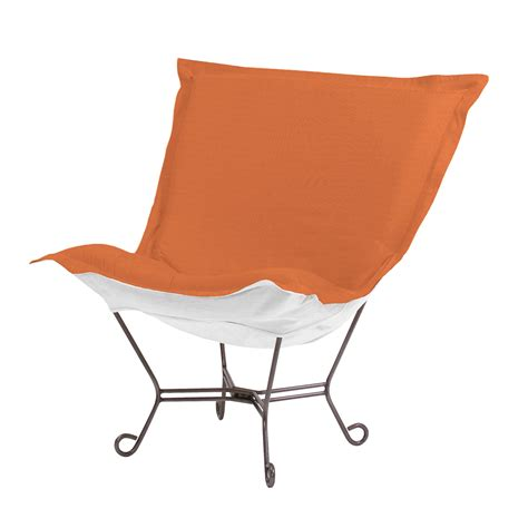 howard elliott puff chair sunbrella seascape