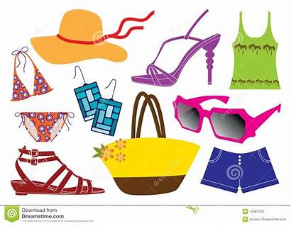 Clothes Clipart Summer Sunny Weather Seasonal Clip