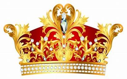 Crown Golden Clipart Crowns Transparent Yopriceville