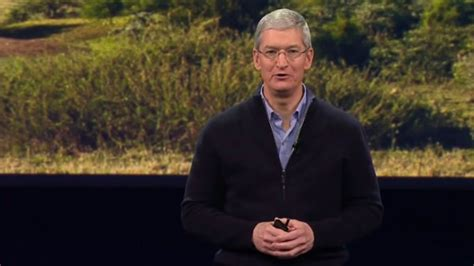 tim cook is an opportunist