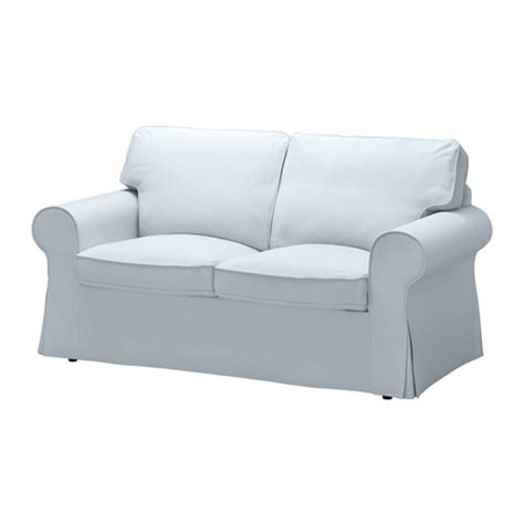 ektorp loveseat nordvalla light blue ikea