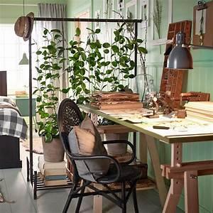 Mur Végétal Intérieur Ikea : urban jungle plante verte et mur vert couleur pastel ~ Dailycaller-alerts.com Idées de Décoration