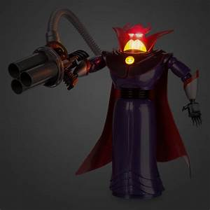 Light Up Christmas Dress New Disney Store Toy Story Talking Light Up Emperor Zurg