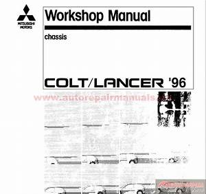 Mitsubishi Lancer  Cj  Ck   Charisma  Da0a  2005 Workshop