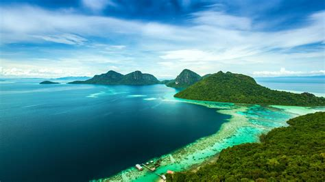 malaysia island sea landscape wallpaper nature