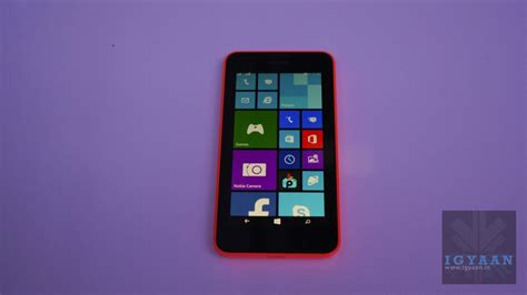 on with the new nokia lumia 630 running windows