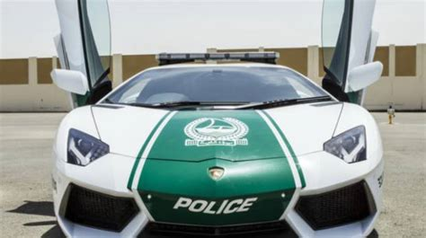 The Complete List Of Dubai Police's Luxury Cars