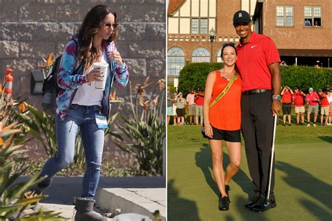 Tiger Woods girlfriend Erica Herman spotted visiting him ...