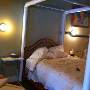 how to make a canopy bed out of pvc pipe canopy bed With diy canopy bed from pvc pipes