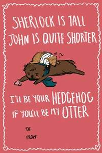 Sherlock valentines- I read it like this: I'll be your ...