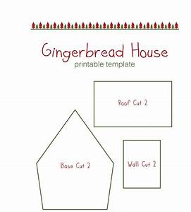 Gingerbread House Templates For Free