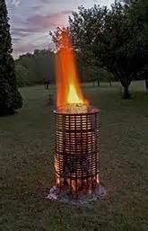temp burn barrel   stainless steel including ash