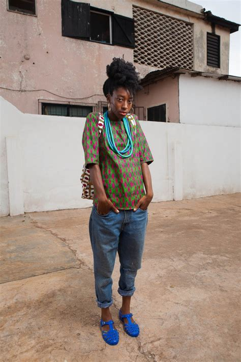 ghana fashion x street photography from emerging label