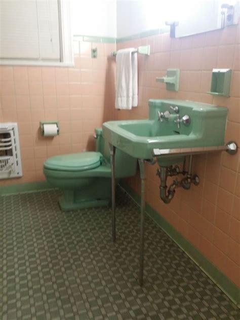 vintage ming green porcelain american standard sink